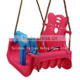 Playground Plastic 3-colored Baby swing Chair