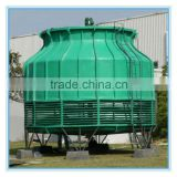 low noise induced draft cross flow FRP cooling tower