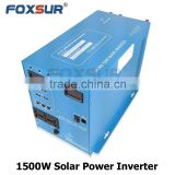 12V/24V dc to 110V/230V AC full power solar panel /inverter/battery/controller complete off-grid home 1500w solar system