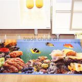 new design best quality bath mat foam / bear family design printed mats