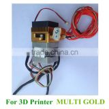 Factory Price 3D Printer Parts 1.75mm ABS PLA Filament Extruder Print Head MK8