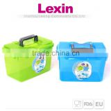 plastic outdoor storage box with lid