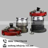 Tank spare parts flange oil quick coupling with cover