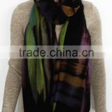 Printed Thin and Light Cashmere Scarf