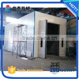 High operational safety sand blasting room, used in locomotives