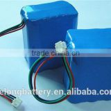 China manufacturer OEM/ODM lithium ion 12v rechargeable 3s2p 4000/4400/5200mah 12v 18650 battery pack for power tools
