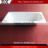 China wholesale market enamel bathtub,enameled enamel bathtub,cast iron enamel corner bathtub