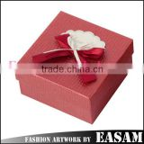 High quality custom logo christmas candy gift paper box with lid