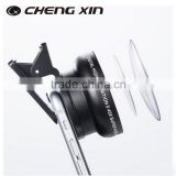 Cell phone Camera lenses Mini custom 0.4x wide angle lens with high quality lanthanide optical glass