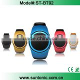 Sports MP3 Music Player Watch Portable Wireless Bluetooth Mini Speaker + Remote Control Selfie-timer + Phone Anti-Lost
