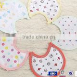 100% cotton nylon ties baby bandana drool bibs                                                                         Quality Choice