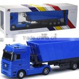 HOT!!1:32 rc container truck 6 CH RC4x4 dump truck for sale from shantou chenghai factory