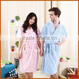 Factory Thermal Super Soft Bamboo Fiber Couples Bathrobe