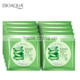 BIOAQUA Aloe Vera Facial Mask, Whitening Moisturizing Facial Mask ,Beauty Face Soothing Mask