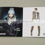 2014 promotional fashional clothing guide magazine printing services