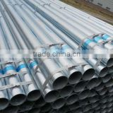 hot dip zinc galvanized Carbon construct erw steel pipe/tube in stock                                                                         Quality Choice