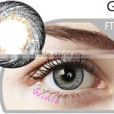 Lucille Venus korea non-prescription 3 tone color lens good quality wholesale color contact lenses