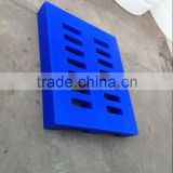 1200*1000 LLDPE euro used plastic pallets floor mat for sale with wheel