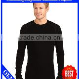 Black wholesale cheap plain t shirts in bulk