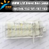 Super white 7000K 12V led courtesy light wholesale led glove box light for Mini series car glove box lamp