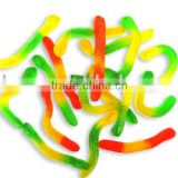 Earth Worm Gummy Candy(animal shape fruit gummy candy)