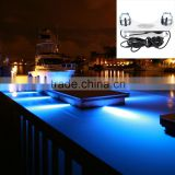 waterproof led Boat marine Drain Plug LED 2*9W white Underwater light
