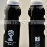 White & black plastic sport water bottle,whoesales 750ml drink bottle alibaba stock price