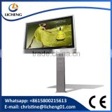 2016 new design advertising single side scrolling light box with internal power supply