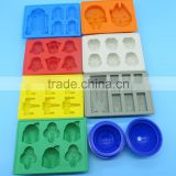 Wholesale ready-made FDA food grade bpa free wars lego star cartoon characters candy ice chocolate jelly molds silicone