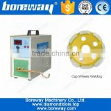 Supply 25KW Induction Brazing Machine For Diamond Cup Grinding Wheel