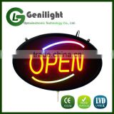 Wholesale Hanging Acrylic Epoxy Resin Font LED Neon Letter Signs