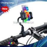 Newest Gooseneck Thickness Sponge Design Motorcycle Phone Holder For GPS And Mobile Phone