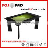 Interactive multi touch table with touch screen coffee table TB550M game table with touch screen