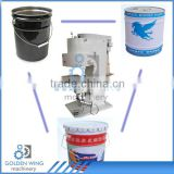 Semi-automatic Manual Tin Can Seamer Sealing Machine For Paint Pail Chemical Drum/Conic Pail Tin Bucket Production Line