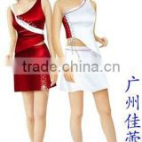 Hot selled woman promotional uniform