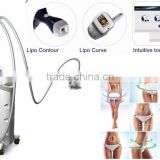 Kuma shape Vacuum suction RF surface body smooth shapes Cellulite Reduction massage machine