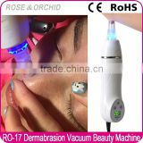 Mini 6 heads diamond tip microdermabrasion machine for acne removal