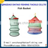 floating wire fish basket / fish container / fish cage