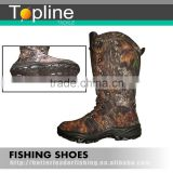 Good quality camouflage hunting boots rubber sole made in China