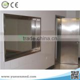 Medical protective lined x-ray lead door