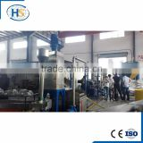 PP PE Film and Woven Bag Plastic Granulating Machine/Double Stage Twin Screw Extruder Machine For Recycling