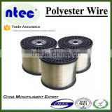 polyester wire transparent white, plastic wire greenhouse equipment, plastic poly wire pulling equipment