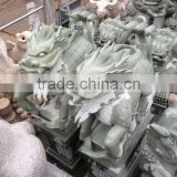 stone chinese dragon sculpture