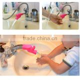 silicone children kids upc water faucet extender parts accessory for kitchen bathroom basin