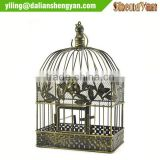 Cheap decorative metal bird cage for wedding centerpiece
