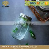 Hot sale Durable glass mason jar Bulk Water Container