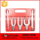 5 Pc Tie Rod Ball Joint Pitman Arm Tool Kit Joint Splitter Remover Separator Pickle Fork A0632