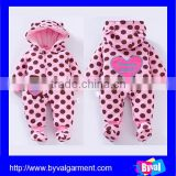 2015 Infant rompers coat sweater rompers baby jumpsuit