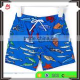 Hot sale Summer little baby boys print swim shorts custom beach board shorts swim trunks wholesale