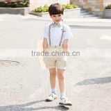 New Fashion Boys Suspenders Pants Set School Performance Boy Clothes Set Fancy Children Wear B-NB-CS905-26